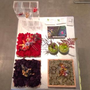 ikebana y joyas de Wanda Romano