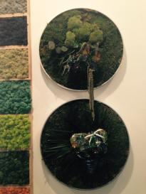 """""""Pixel Garden"""" y Jardines circulares, Claudia Bonollo con Wanda Romano"""