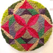 The Fluffy Mandala II, Claudia Bonollo