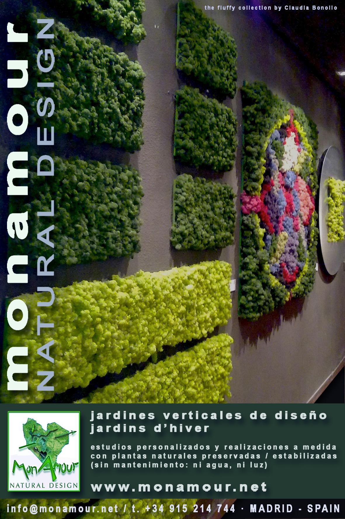 Jardines verticales claudia bonollo for Materiales para jardines verticales