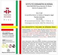 19 ARQUITECTOS ITALIANOS EN ESPAÑA