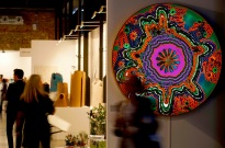 "LIGHT BOX VEGETALIZADA ""FLOWER POWER"" Diseño: Claudia Bonollo"