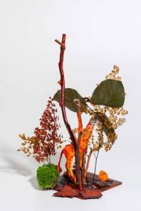jardin de Adonis con girafa. Claudia Bonollo
