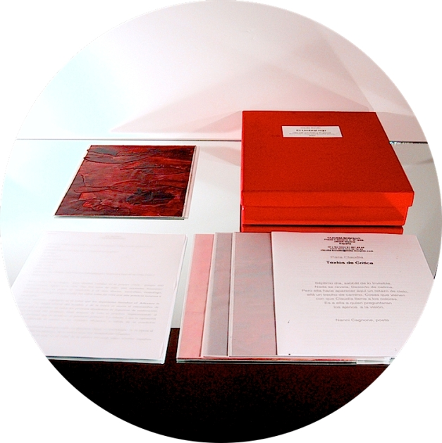 libro rojo, Claudia Bonollo, 2000