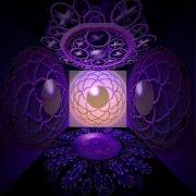 spazio sinattico viola
